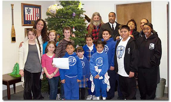 LA Christmas Tree Donation
