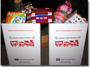 Santa and Sons Toys for Tots